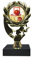"6-1/4"" FCL Basketball Insert Sport Wreath Trophy"