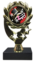 "6-1/4"" FCL Dance Insert Sport Wreath Trophy"