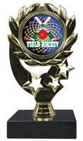 "6-1/4"" FCL Field Hockey Insert Sport Wreath Trophy"