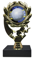 "6-1/4"" FCL Volleyball Insert Sport Wreath Trophy"
