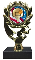 "6-1/4"" USA Basketball Insert Sport Wreath Trophy"