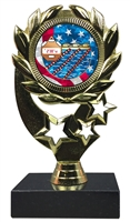 "6-1/4"" USA Swimming Insert Sport Wreath Trophy"