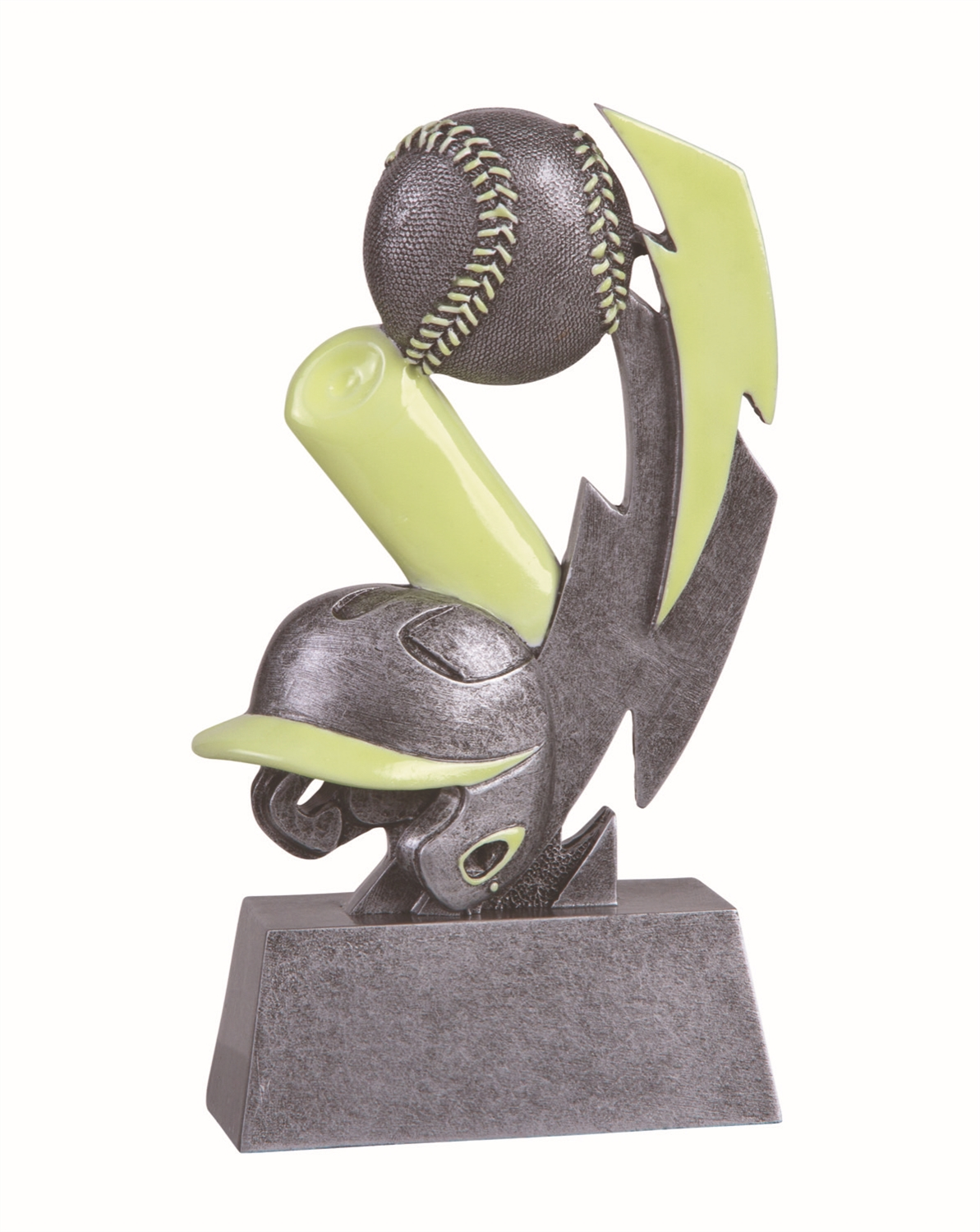 Glow in the Dark Baseball Trophy