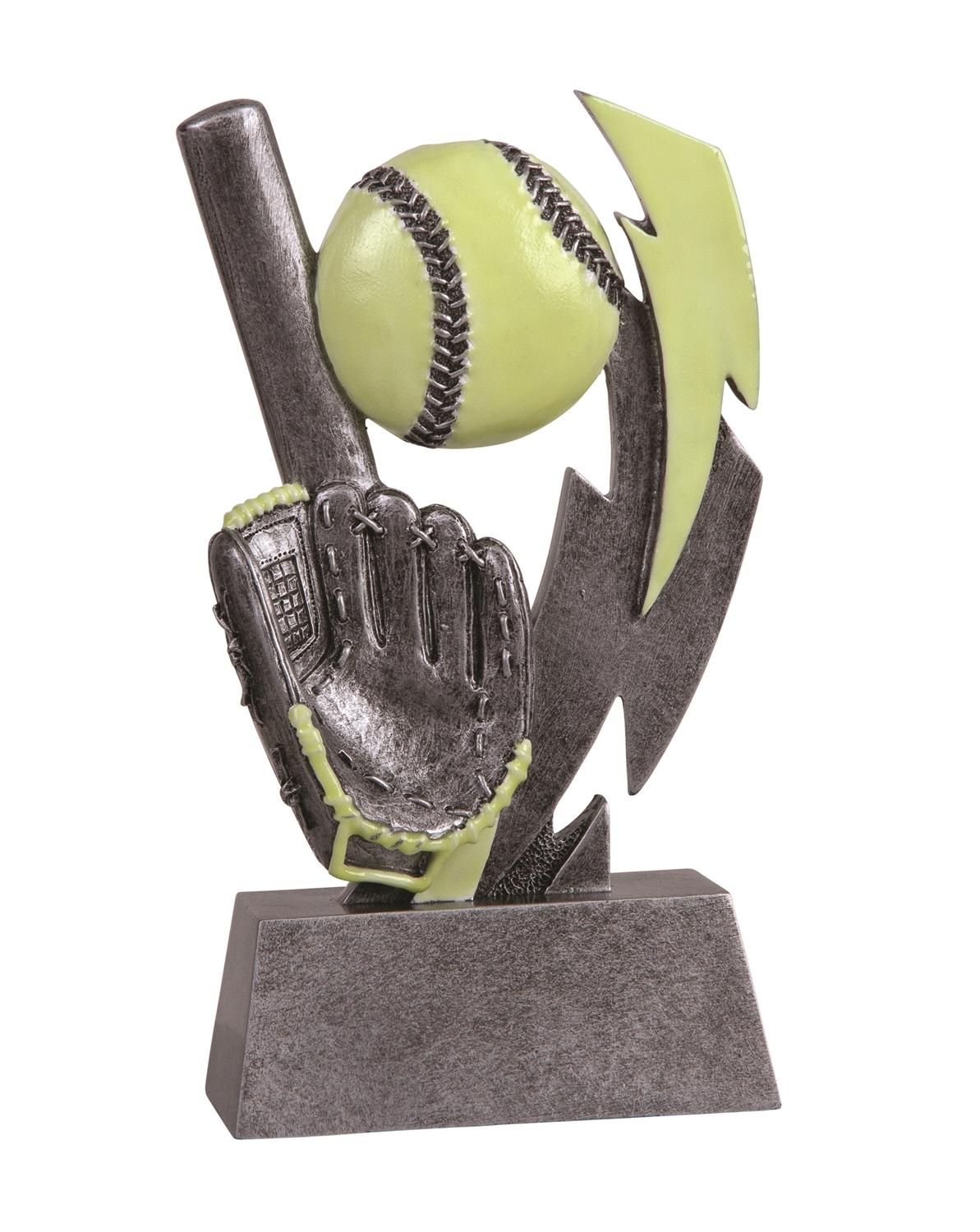 Glow in the Dark Softball Trophy
