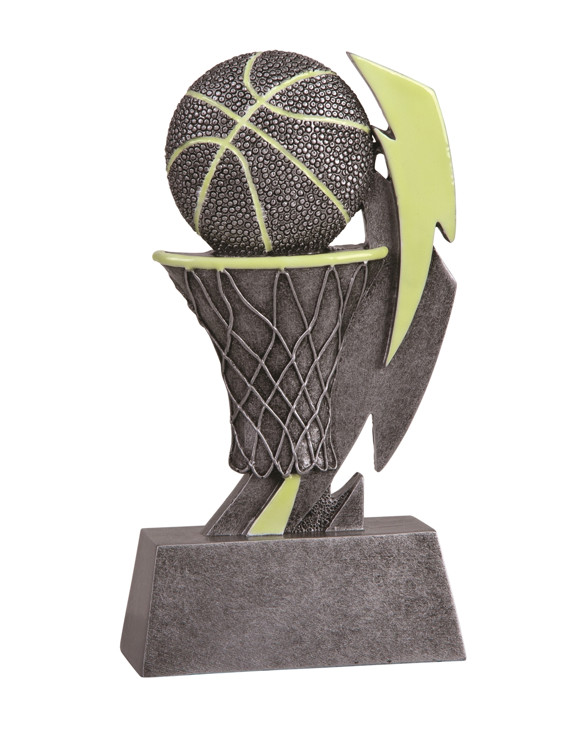 Glow in the Dark Basketball Trophy