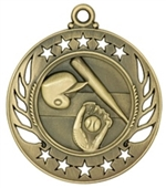 "2-1/4"" Galaxy Baseball Medal GM101"