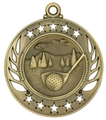 "2-1/4"" Galaxy Golf Medal GM105"