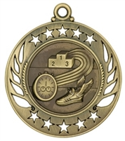 "2-1/4"" Galaxy Track Medal GM112"