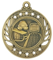 "2-1/4"" Galaxy Swimming Medal GM115"