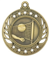 "2-1/4"" Galaxy Volleyball Medal GM117"