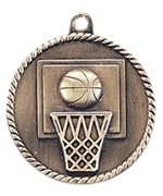 "2"" Basketball Medal HR710"