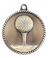 "2"" Golf Medal HR725"