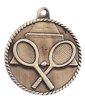 "2"" Tennis Medal HR755"