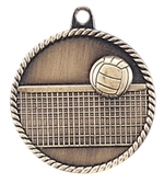 "2"" Volleyball Medal HR765"