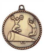 "2"" Cheerleading Medal HR775"