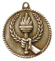 "2"" Victory Torch Medal HR800"