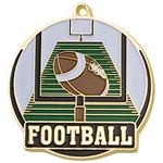 "2-"" High Tech Series Football Medal HTM-213"