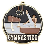 "2-"" High Tech Series Male Gymnastics Medal HTM-217"