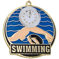 "2-"" High Tech Series Swimming Medal HTM-231"