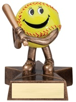 Lil' Buddy Series Softball Trophy