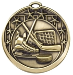 "2"" Star Hockey Medal M710"