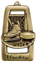 "2-3/4"" Star Blast Hockey Medal M910"