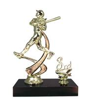 "1st - 5th Place 6"" Female Softball Figure Trophy"