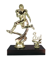 "1st - 5th Place 6"" Football Figure Trophy"