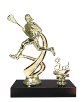 "1st - 5th Place 6"" Female Lacrosse Figure Trophy"