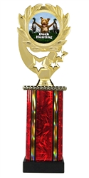 Moonbeam Wreath Full Color Duck Hunting Trophy in 11 Colors - in 3 Sizes