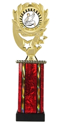Moonbeam Wreath SUN Karate Trophy in 11 Colors - in 3 Sizes