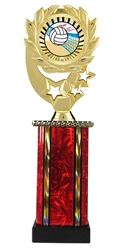 Moonbeam Wreath SUN Volleyball Trophy in 11 Colors - in 3 Sizes