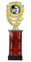 Moonbeam Wreath SUN Tap Dance Trophy in 11 Colors - in 3 Sizes