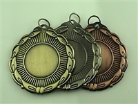 "2"" BLANK Insert Medal 1"" Mylar Not Included MD01"