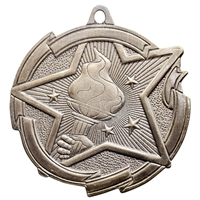 "2-3/8"" Star Victory Medal MD1701"