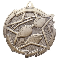 "2-3/8"" Star Swimming Medal MD1714"