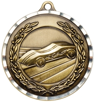 "2"" PREMIUM Diamond-Cut Pinewood Derby Medals MDC26"