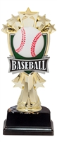 "6-1/2"" All Star Baseball Figure on Base Trophy MF3261-ASB335"
