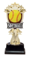 "6-1/2"" All Star Softball Figure on Base Trophy MF3262-ASB335"