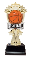"6-1/2"" All Star Basketball Figure on Base Trophy MF3263-ASB335"