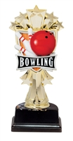 "6-1/2"" All Star Bowling Figure on Base Trophy MF3264-ASB335"