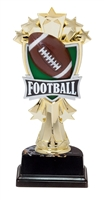"6-1/2"" All Star Football Figure on Base Trophy MF3266-ASB335"