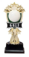 "6-1/2"" All Star Golf Figure on Base Trophy MF3267-ASB335"