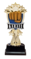 "6-1/2"" All Star Karate Figure on Base Trophy MF3271-ASB335"
