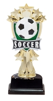 "6-1/2"" All Star Soccer Figure on Base Trophy MF3273-ASB335"