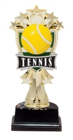 "6-1/2"" All Star Tennis Figure on Base Trophy MF3275-ASB335"