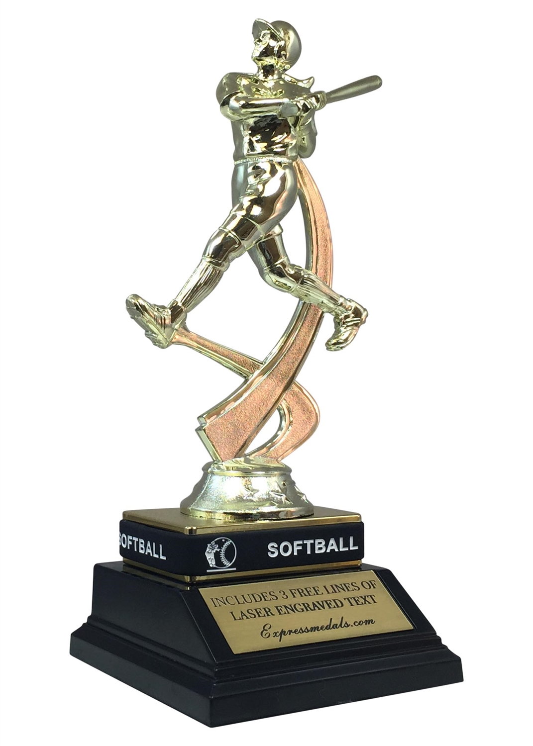 Softball Trophy with Wrist Band