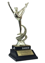 Dance Trophy with Wrist Band