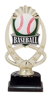 "6-1/2"" Meridian Baseball Figure on Base Trophy MF761-ASB335"