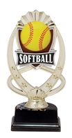 "6-1/2"" Meridian Softball Figure on Base Trophy MF762-ASB335"